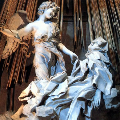 Gian Lorenzo Bernini, The Ecstasy of St. Theresa