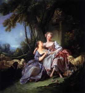 François Boucher, The Love Letter