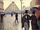 Gustave Caillebotte, Paris on a Rainy Day