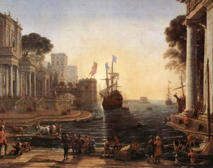 Claude Lorraine, Ulysses Returns Chryseis to Her Father