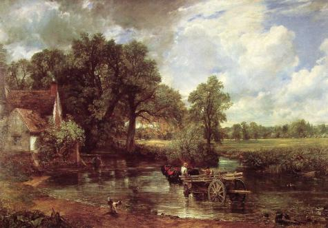 John Constable, The Haywain