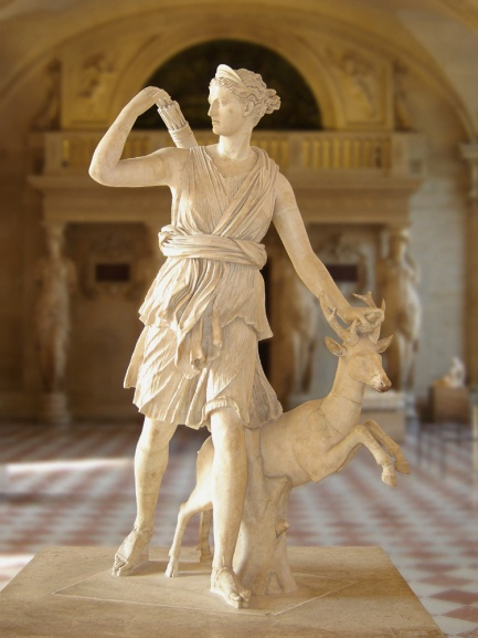 Diana the Huntress of Versailles