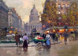 Edouard Cortes, The Pantheon
