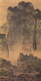 Fan Kuan, Travelers among Mountains and Streams