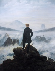 Caspar David Friederich, Wanderer Above a Sea of Fog