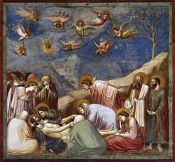 Giotto di Bondone, Christ's Descent from the Cross