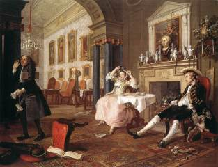 Hogarth, Marriage à la Mode