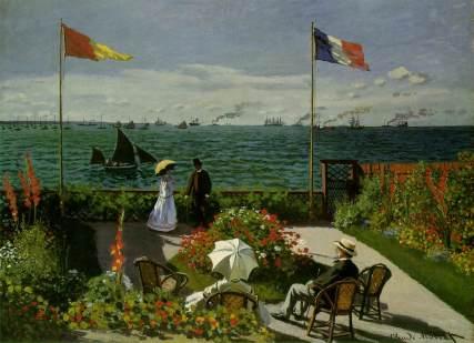 Claude Monet, Jardin de Saint Adresse